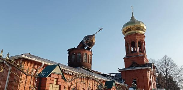 Подробности пожара в церкви под Днепром: комментарий священника