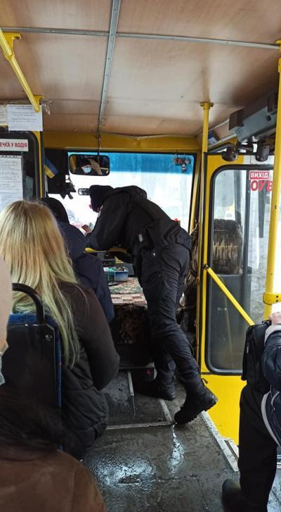 Водителя маршрутки оштрафовали. Новости Днепра