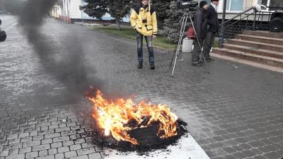 Участников «тарифного протеста». Новости Днепра