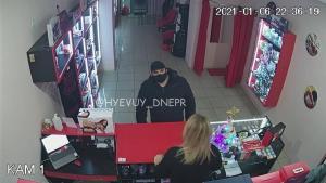 Мужчина обчистил секс-шоп. Новости Днепра