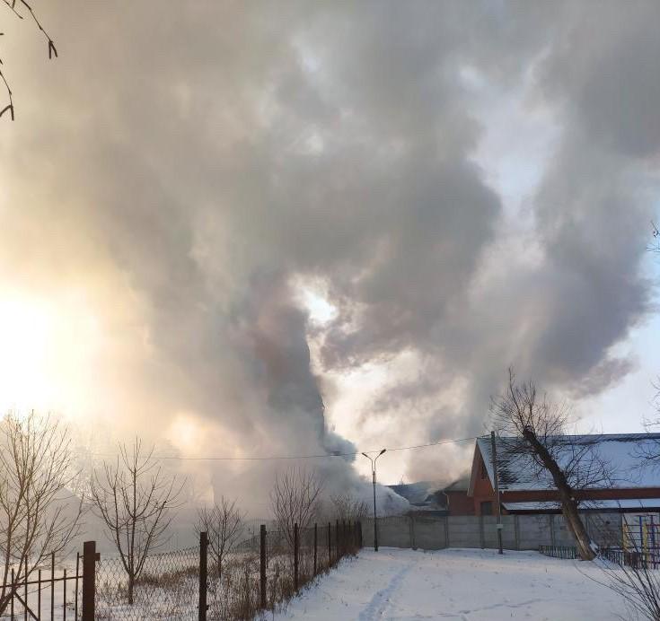 Под Днепром пылает церковь. Новости Днепра