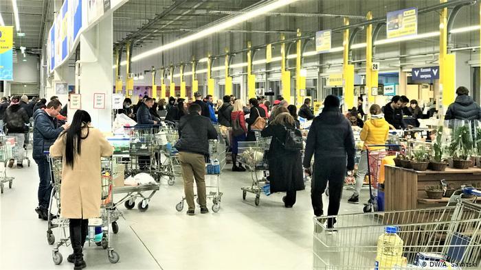 Украинцам посоветовали не покупать бытовые товары в магазинах, а заказывать из через интернет. Новости Украины