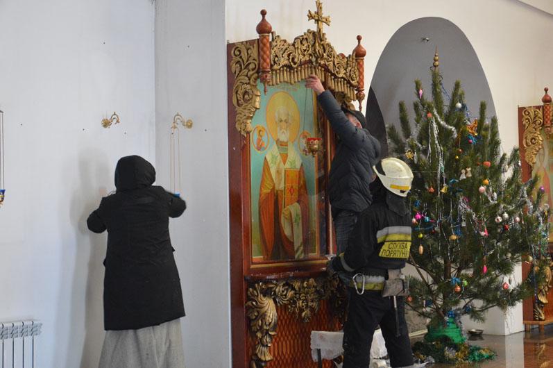 На Крещение горел храм. Новости Днепра