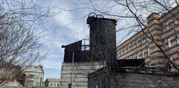 Загадочный объект в центре Днепра: что это и где находится