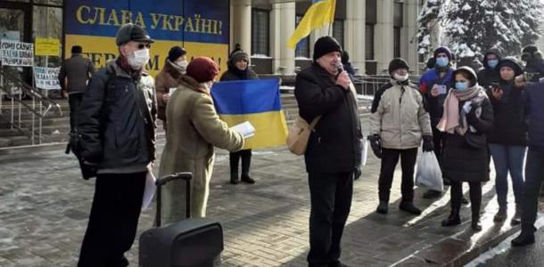 Тарифный митинг: протесты добрались до Днепра (ФОТО)