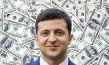 Президент Владимир Зеленский разбогател за год на 4,6 миллиона гривен