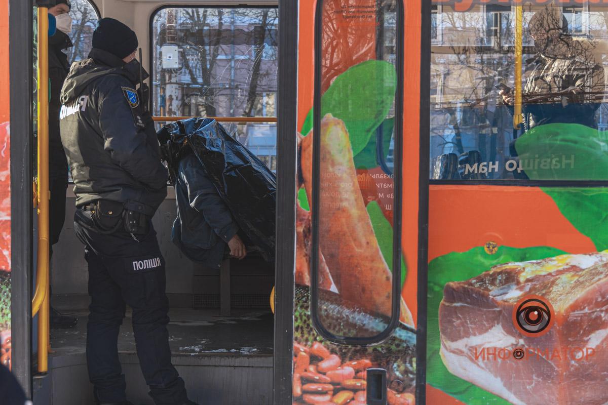 В первом трамвае. Новости Днепра