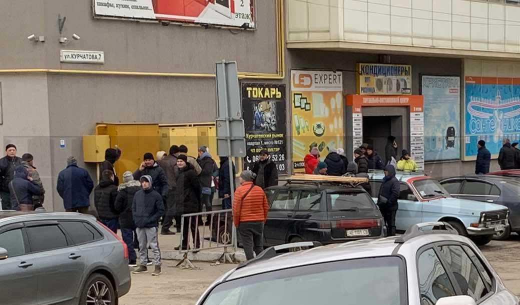 Торговля во время локдауна. Новости Днепра