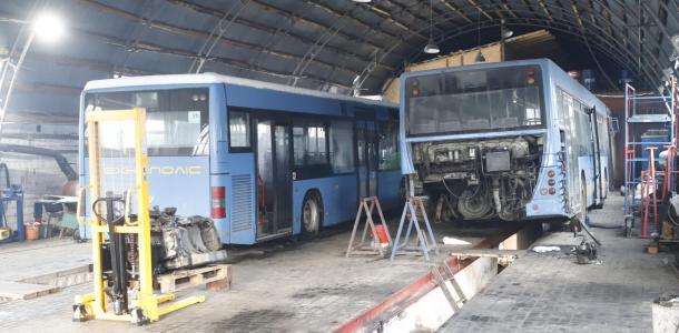 Дополнительные машины и специальное топливо: как в Днепре общественный транспорт готовят к бесперебойной работе в лютые морозы