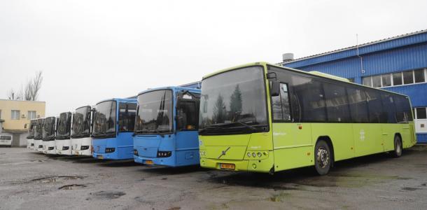 Из Финляндии в Днепр: новая партия вместительных автобусов выходит на маршруты