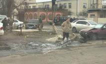 Видео момента аварии под Днепром, в которой погибла 2-летняя Лера