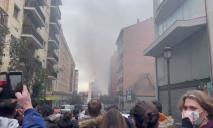 В столице Испании прогремел взрыв (ФОТО, ВИДЕО)