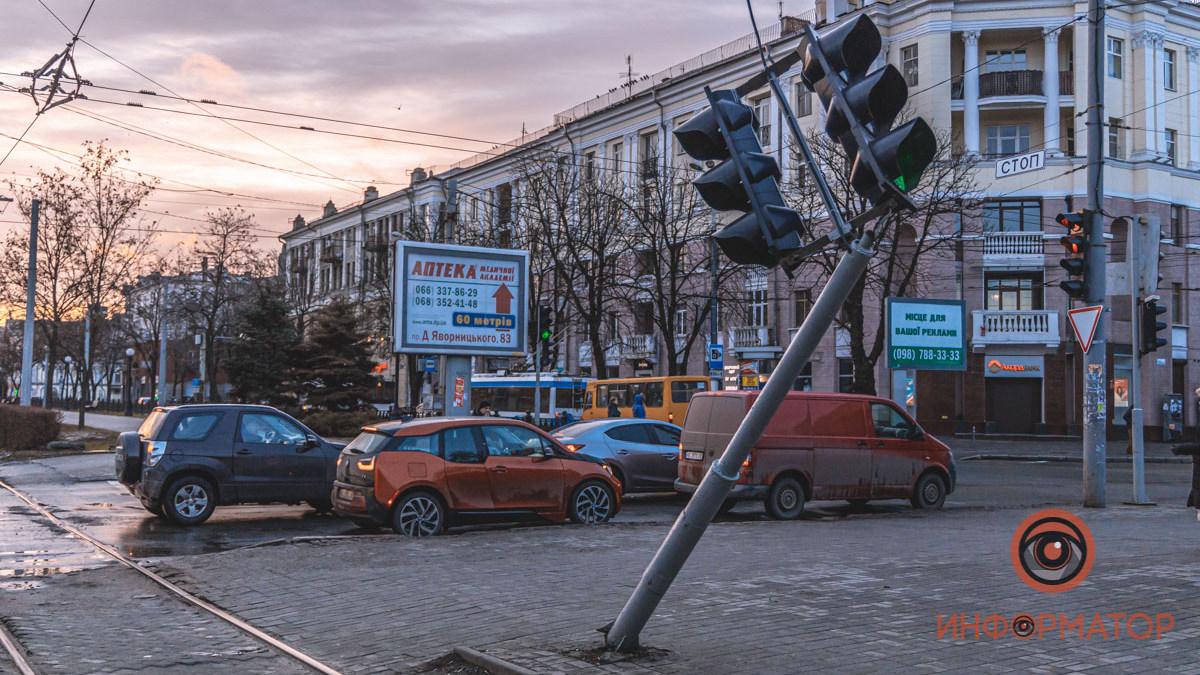 Светофор. Новости Днепра