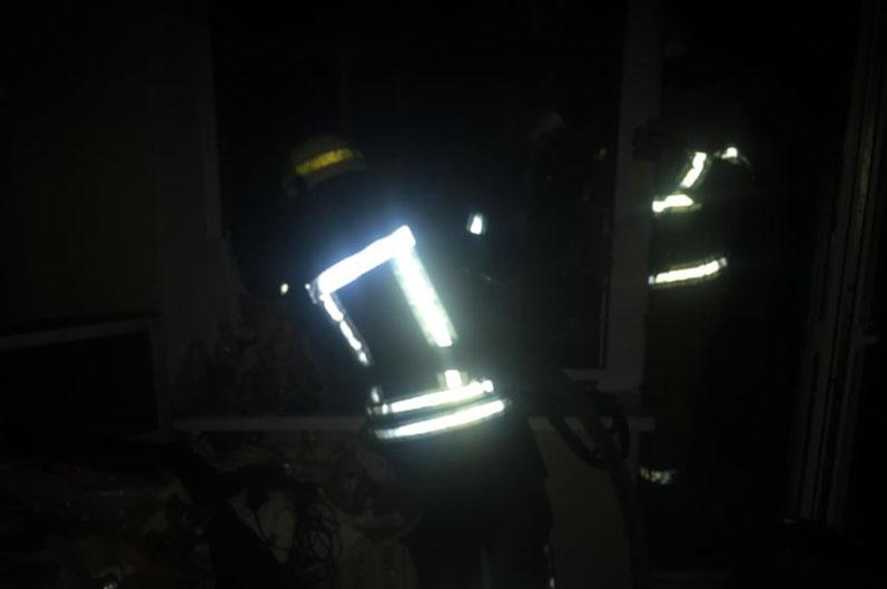 Новости Днепра про Загорелся балкон квартиры, мужчину с ожогами госпитализировали