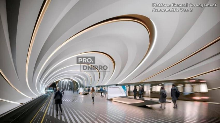 Будущее уже в Днепре: появились фото, как будет выглядеть метро внутри. Новости Днепра