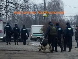 Вооруженные нацгвардейцы с собаками. Новости Днепра