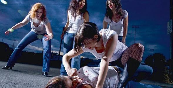 Школьницы жестоко избили сверстницу