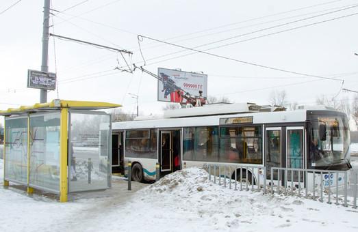 Что в непогоду с общественным транспортом в Днепре. Новости Днепра