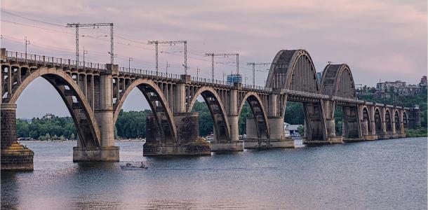 Днепровские мосты — самые длинные в Украине. РЕЙТИНГ