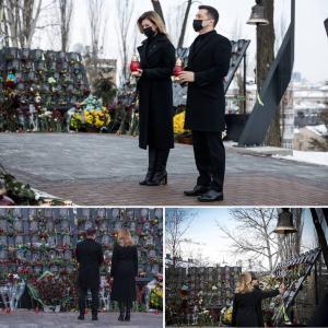 Новости Днепра про Сегодня в Украине День памяти Героев Небесной сотни