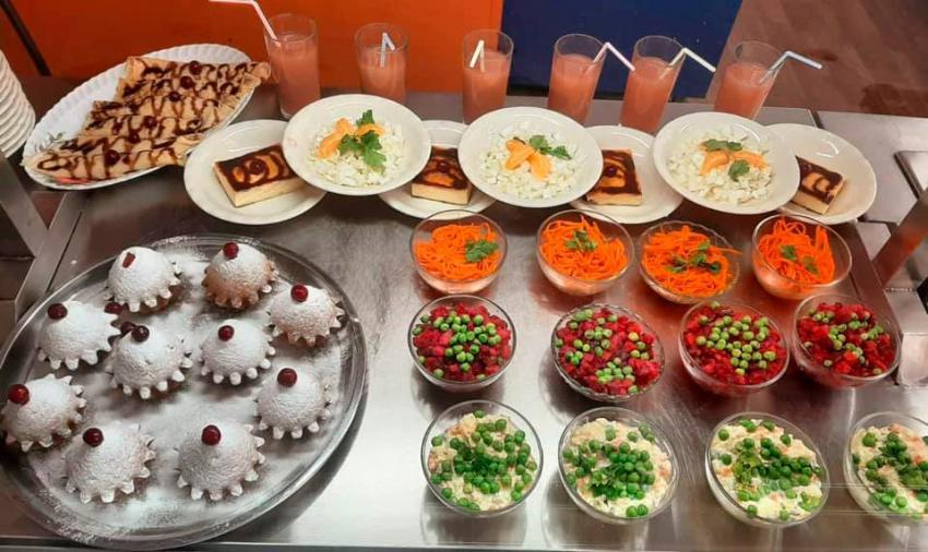 Чем кормят днепровских школьников. Новости Днепра