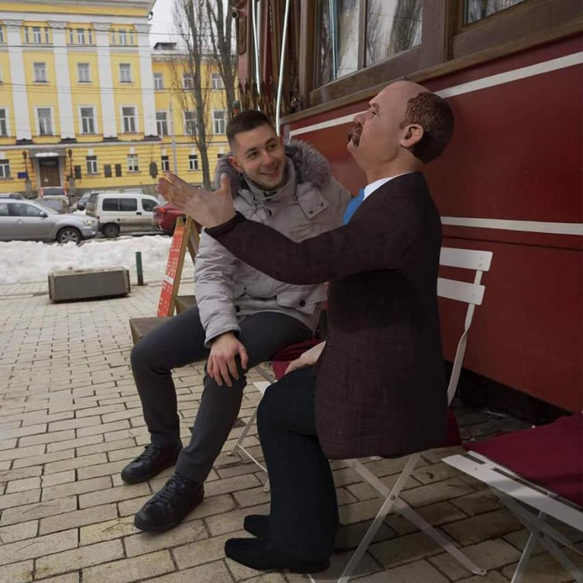Днепрянка рассказала, как можно пообщаться с Тарасом Шевченко. Новости Днепра