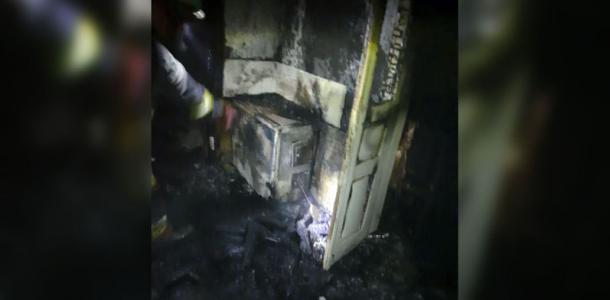 Мужчина сгорел в собственном доме под Днепром (ФОТО)