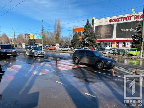 Новости Днепра про На пешеходном переходе сбили мужчину