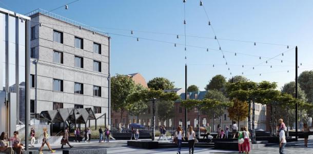 Фонарные столбы на Короленко: настоящая ржавчина или стилистическая задумка