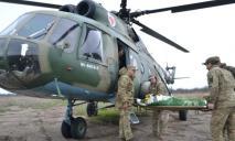 Из зоны ООС в Днепр эвакуировали раненого бойца