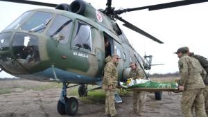 Новости Днепра про Из зоны ООС в Днепр эвакуировали раненого бойца
