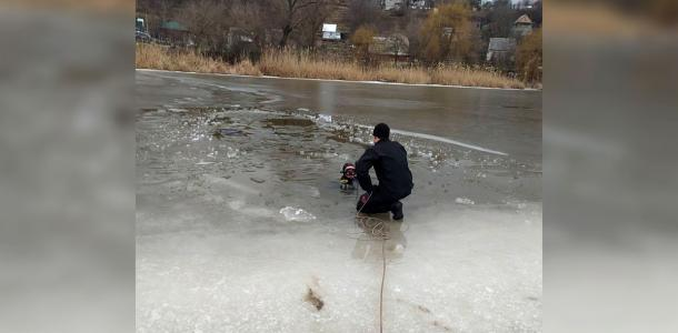 Под Днепром двое провалились под лед: мужчину спасти не удалось