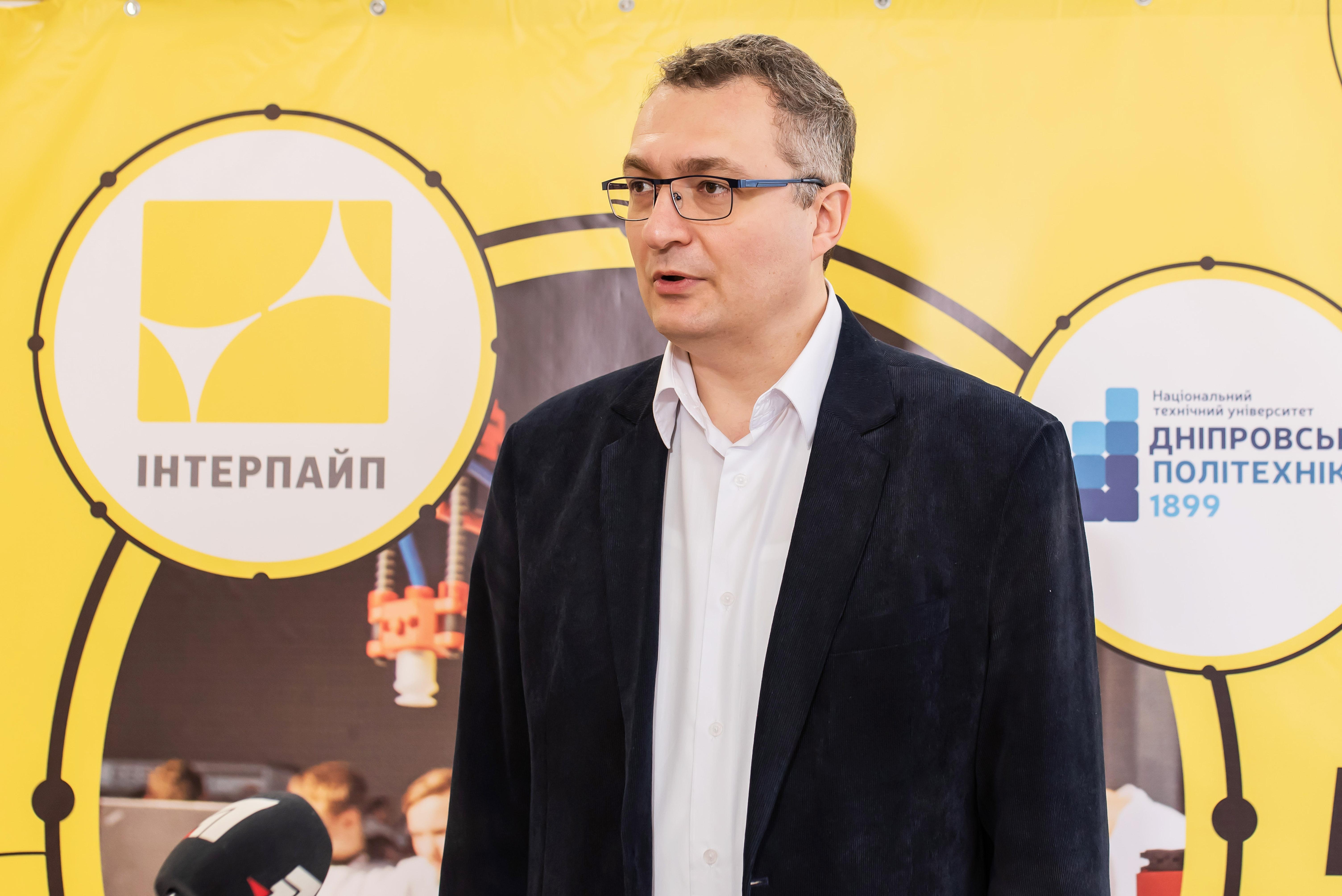 Новости Днепра про При поддержке ИНТЕРПАЙП стартовали занятия юных мехатроников Днепра и области