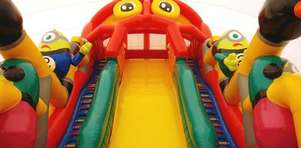 5 швов: ребенок рассек голову, прыгая на батуте в ЦУМе на Днепропетровщине