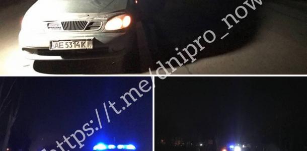 В Днепре автомобиль сбил пьяного мужчину