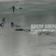 Пятеро подростков в Днепре ушли под лед: появилось видео момента