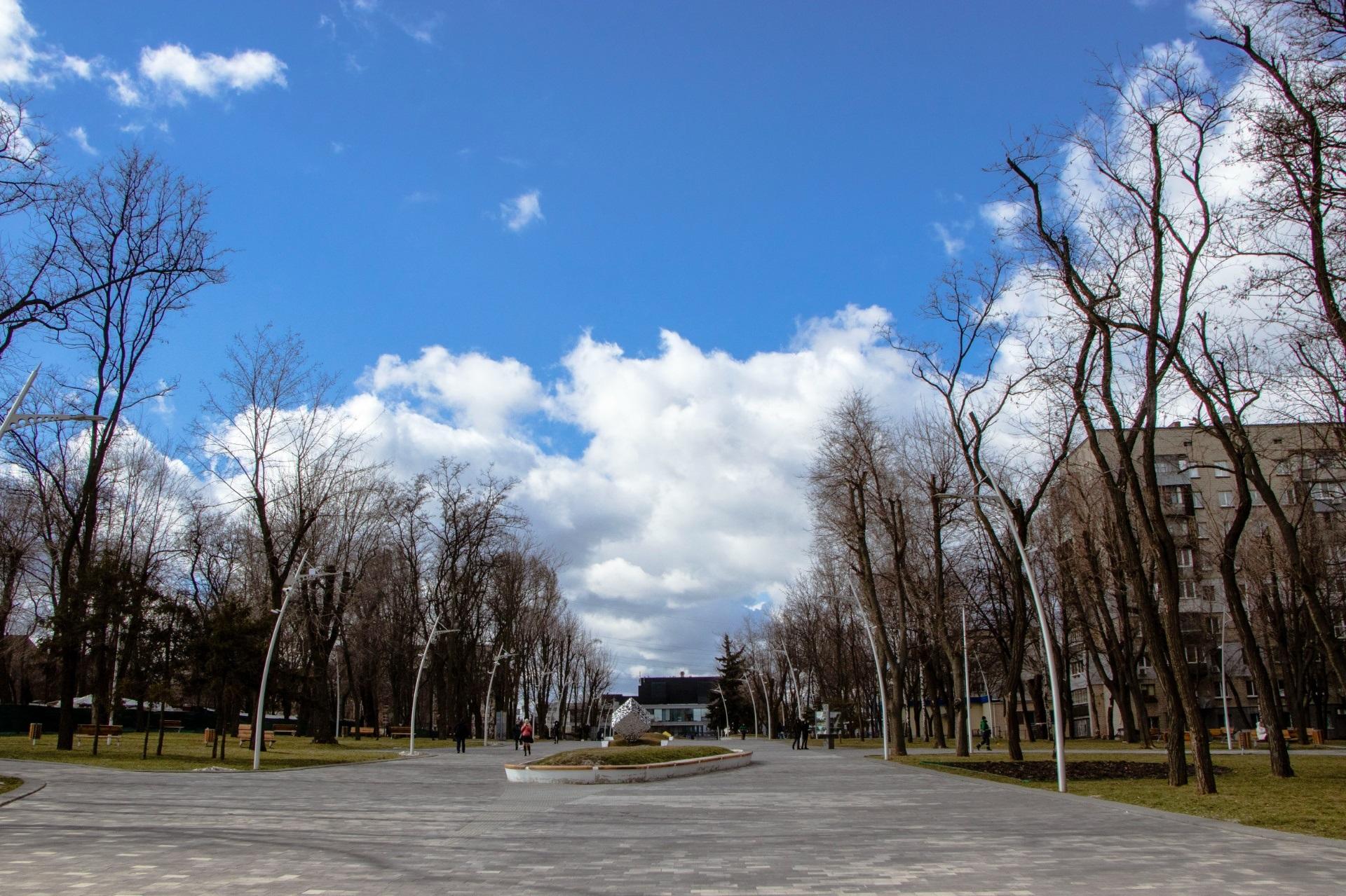 В днепровских парках. Новости Днепра