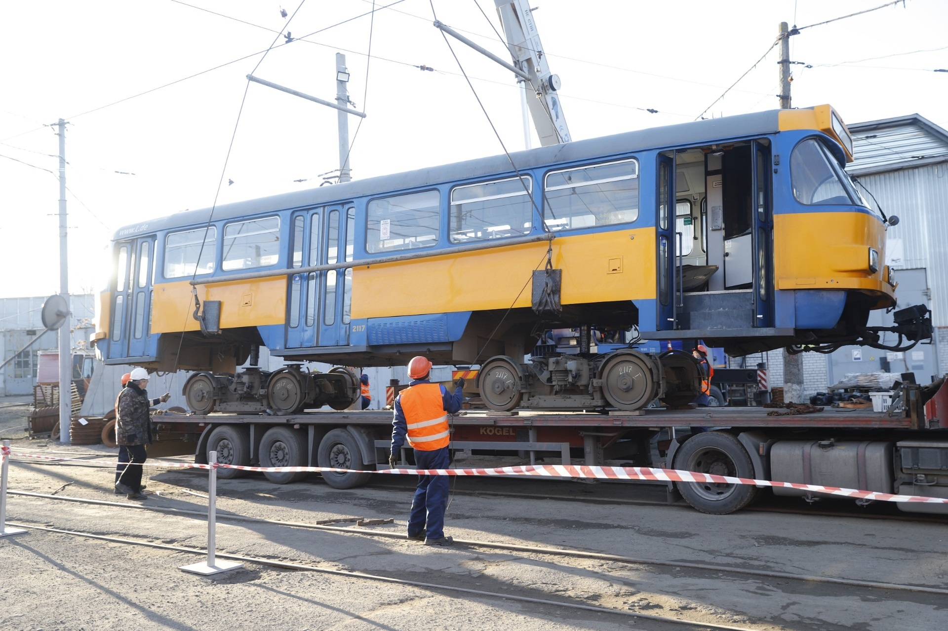 10 трамваев. Новости Днепра
