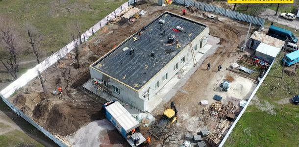 В поселке Куриловка завершают строительство амбулатории