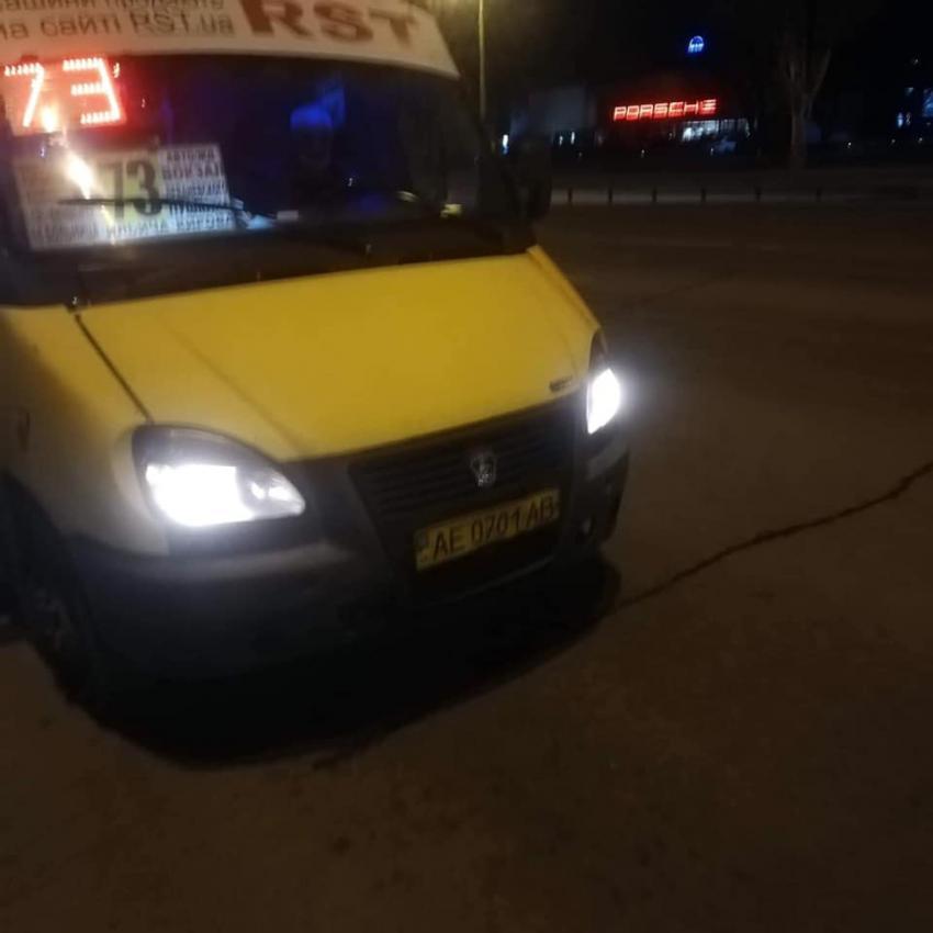 Новости Днепра про Водитель маршрутки в Днепре вместе с пассажирами избил ветерана войны