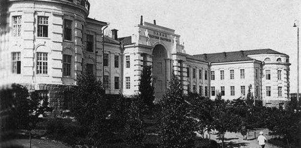 Разрушающийся Дворец профилактики в Днепре: как он выглядел раньше