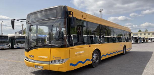 Один из автобусов в Днепре изменит маршрут с 24 апреля: новая схема движения