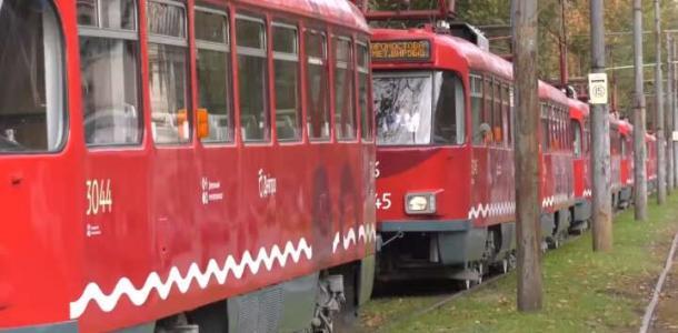 Сегодня в Днепре трамваи закончат работу раньше
