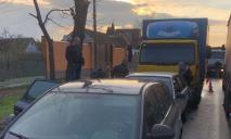 В Днепре произошло масштабное ДТП с четырьмя автомобилями