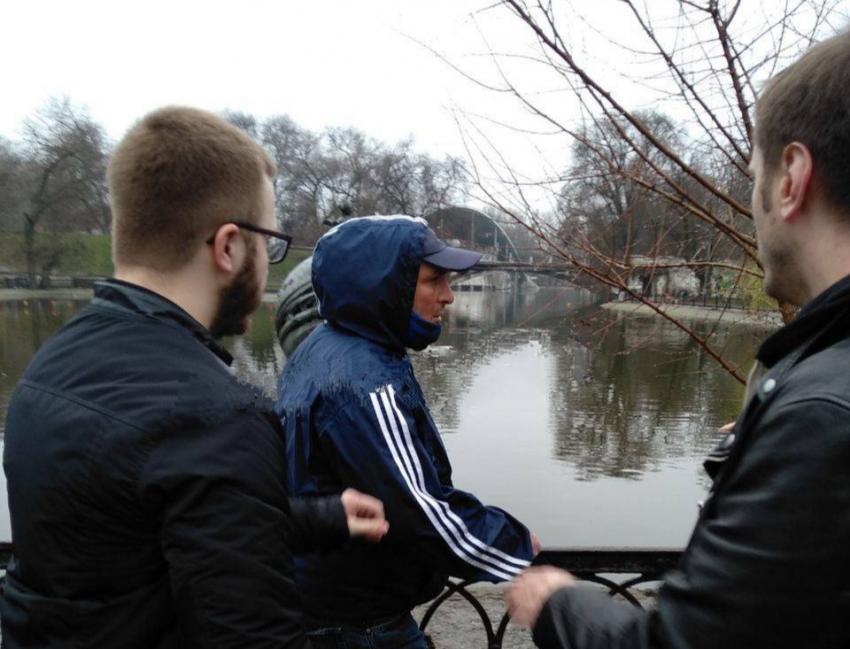 Вор искупался в озере парка Глобы, пытаясь убежать от правосудия