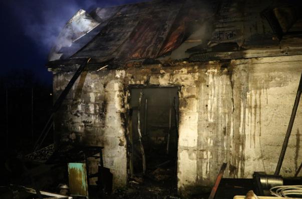 Новости Днепра про В Днепре спасатели боролись с пожаром в бане