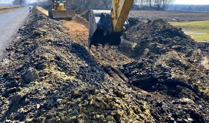 Новости Днепра про В Днепре начался ремонт трассы М-04 в пятихатском направлении