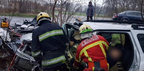 Автокатастрофа на трассе Днепр-Мелитополь: 1 погиб, 4 госпитализированы (ФОТО, ВИДЕО)