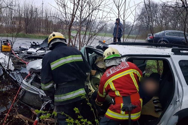 Автокатастрофа. Новости Днепра