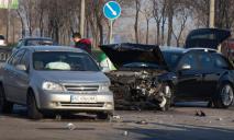 В Днепре столкнулись автомобили